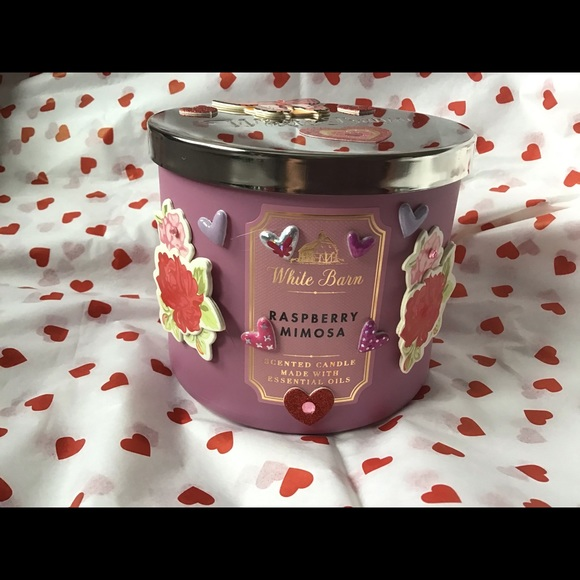 Bath&body candle for Valentine's Day